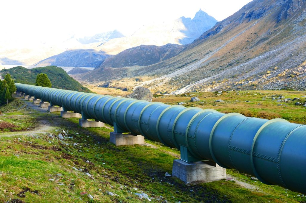 pressure water line, pipeline, tube